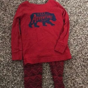 Red Jammies for toddler
